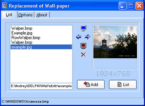 Replacement of Wall-paper